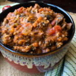 Beef and Mushroom Chilli