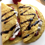 """Sweet or Savoury Flourless """"Crepes"""""""