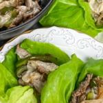 Cheesesteak Lettuce Wraps