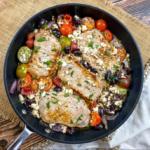 Smothered Mediterranean Pork Chops