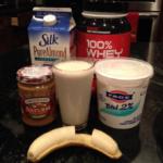 Yummy Peanut Butter Protein Shake