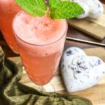 Mint Grapefruit Mimosas