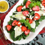 Strawberry Fennel Salad with Homemade Vinaigrette