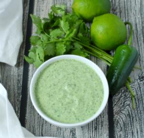 Creamy Cilantro-Lime Sauce