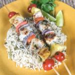 Swordfish& PineappleKabobs