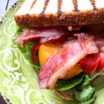 BLT with Creamy Avocado Spread
