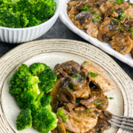 Pork Scallopini with Mushroom Gravy